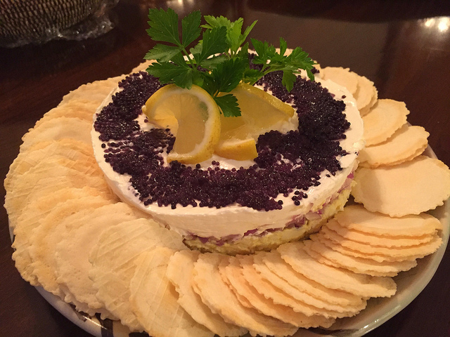 Foodista | Recipes, Cooking Tips, and Food News | Caviar Pie