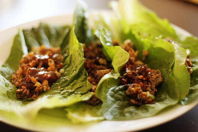 Chinese Chicken Wrap Chinese Chicken Lettuce Wraps