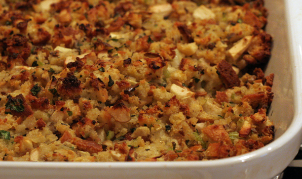 Buttermilk Cornbread and sage stuffing