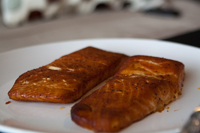 Foodista Recipes Cooking Tips And Food News Easy Oven Smoked Salmon