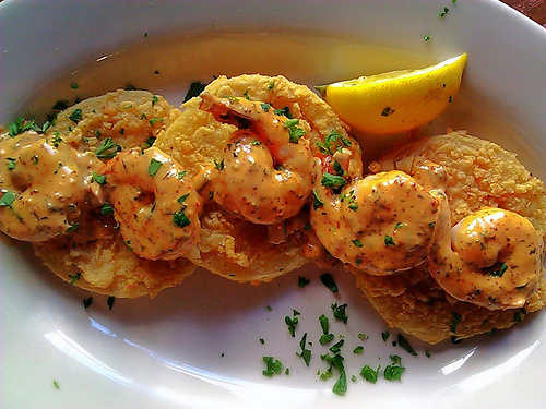 ... and Food News | Fried Green Tomatoes and Shrimp with Spicy Remoulade
