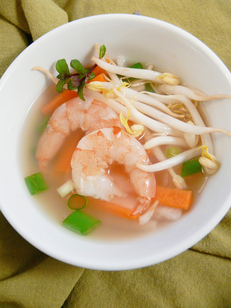 Foodista Recipes Cooking Tips And Food News Shrimp And Lemongrass Soup