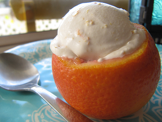 ... , Cooking Tips, and Food News | Blood Orange Creamsicle Ice Cream