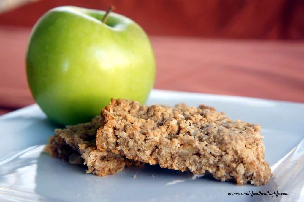 ... Tips, and Food News | Peanut Butter and Apple Oatmeal Breakfast Bars