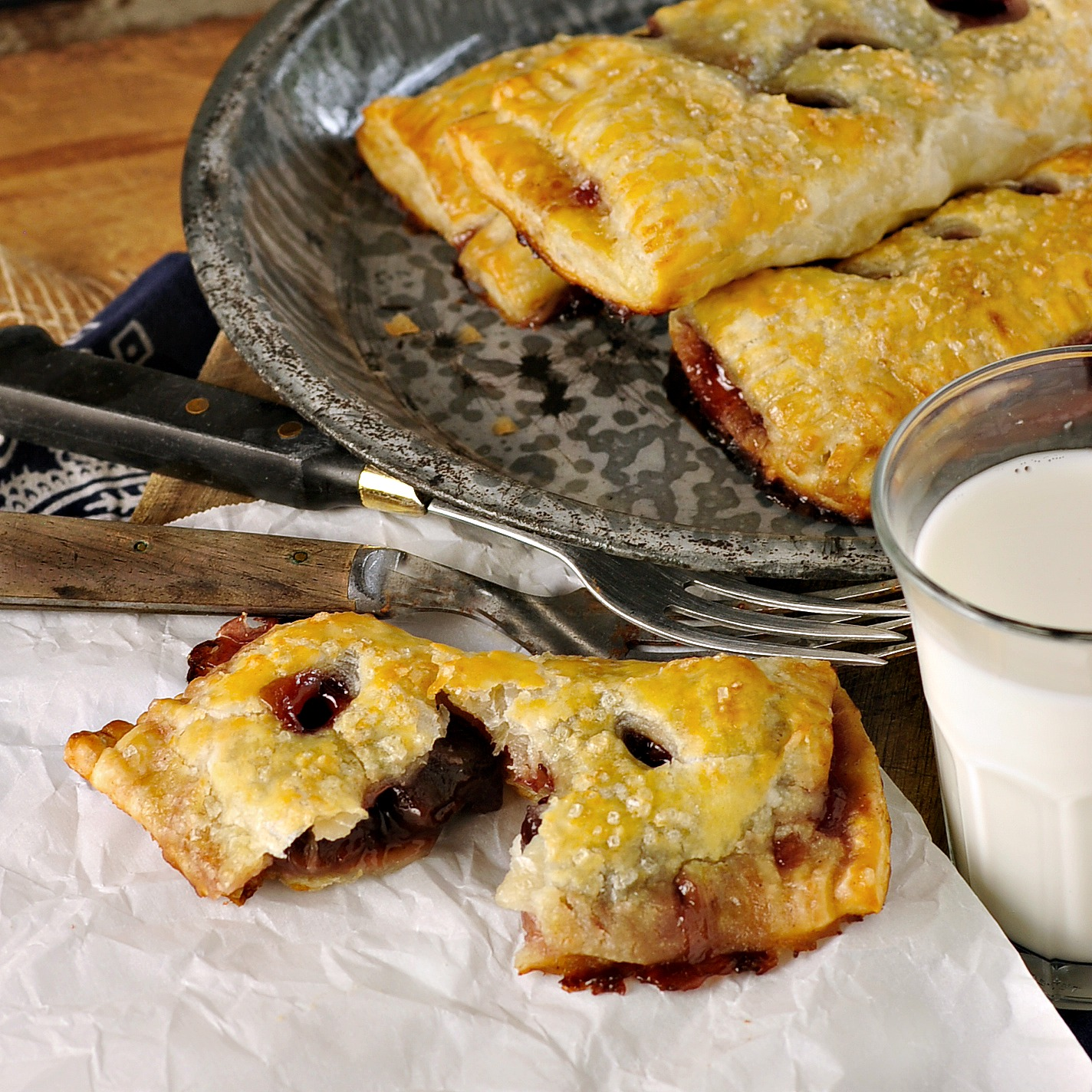 Foodista   Recipes, Cooking Tips, and Food News   Cherry Hand Pies