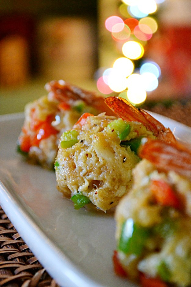 Foodista Recipes Cooking Tips And Food News Crab Cake Stuffed Shrimp