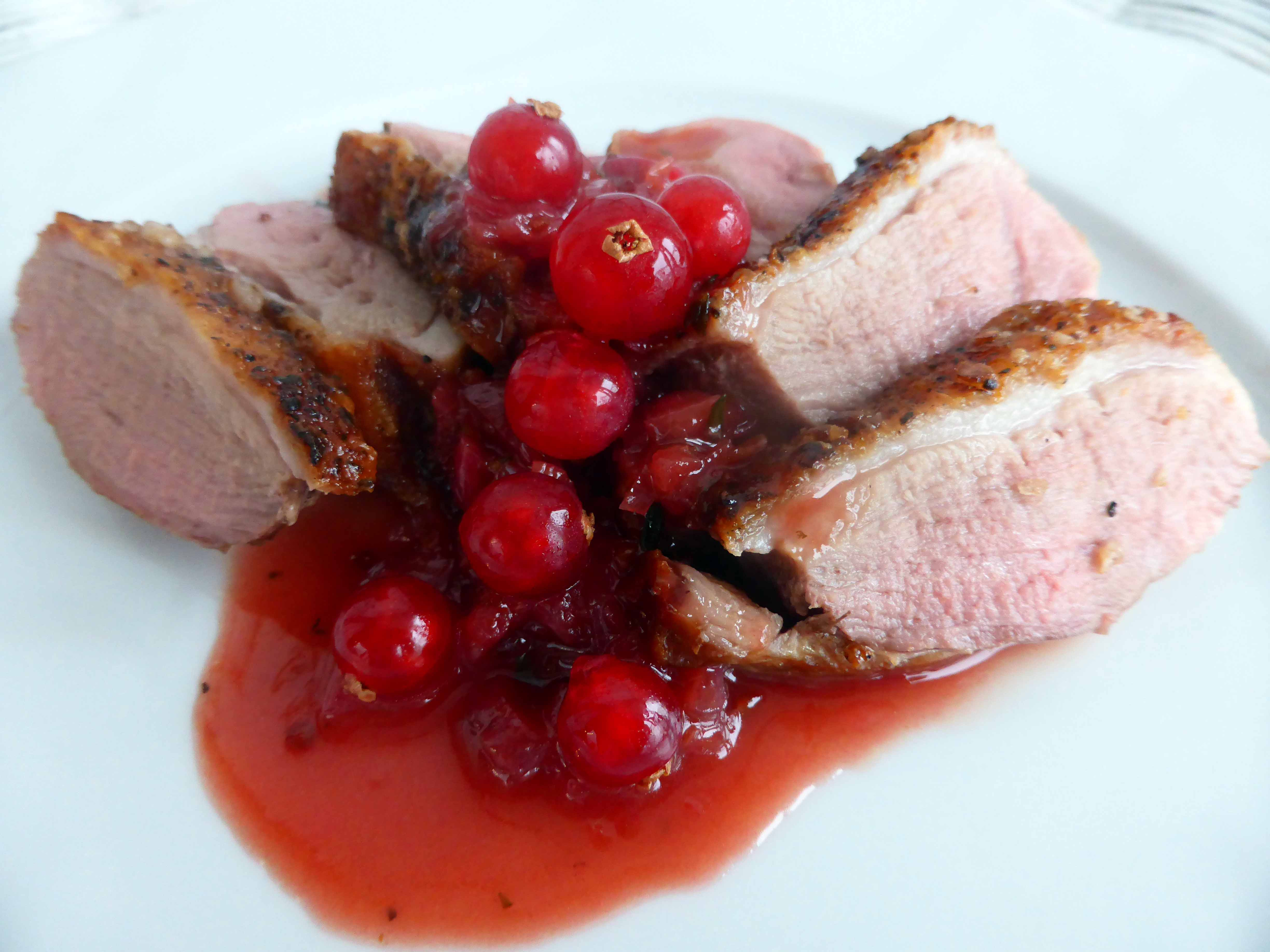 ... Tips, and Food News | Duck Breast with Redcurrant and Port Sauce