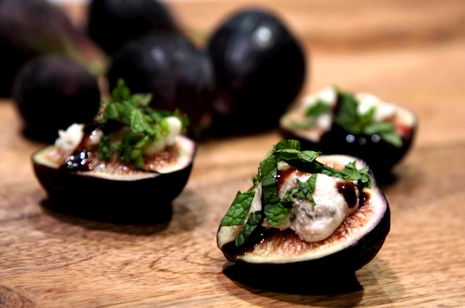 ...   Recipes, Cooking Tips, and Food News   Fig and Gorgonzola Bites
