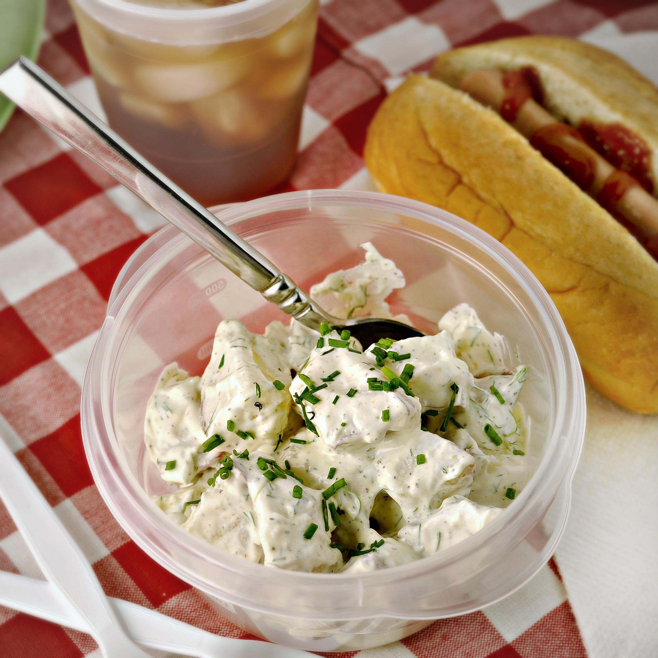 Garlic Dill New Potatoes Recipe — Dishmaps