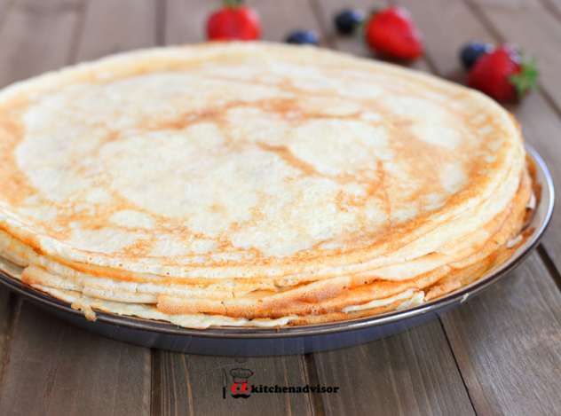 Foodista Recipes Cooking Tips And Food News How To Make Crepes Easy Crepe Recipe