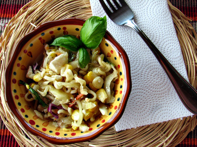 ... , Cooking Tips, and Food News | Fresh Corn and Basil Slaw with Feta