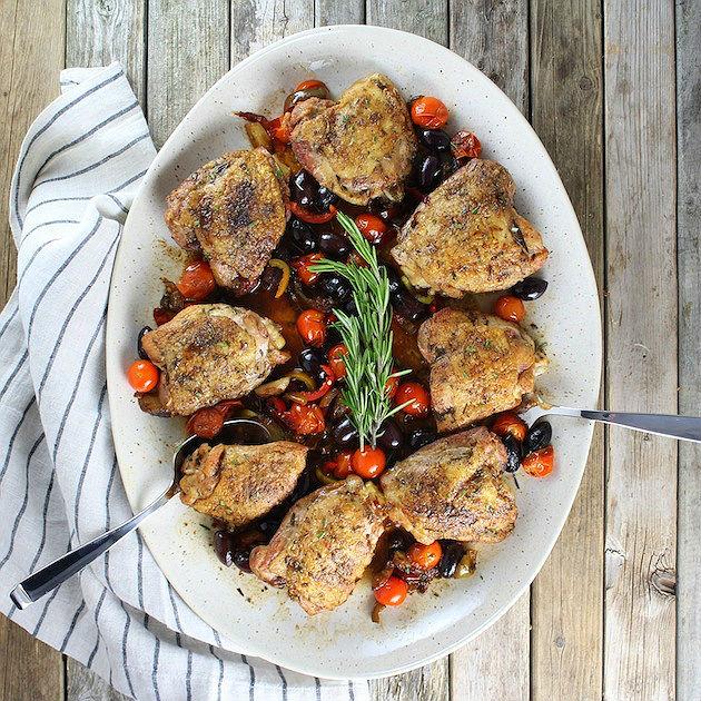 Chicken Fricasee Abruzzo