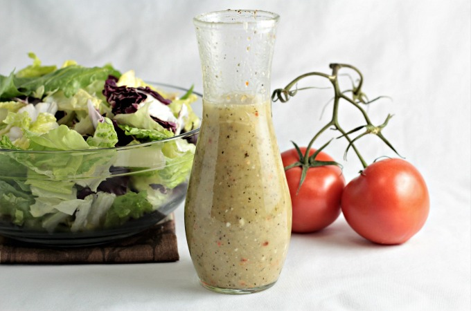 Foodista Recipes Cooking Tips And Food News Olive Garden Creamy Italian Dressing Copycat