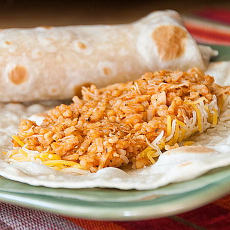 ... Recipes, Cooking Tips, and Food News | Quick Chicken and Rice Burritos
