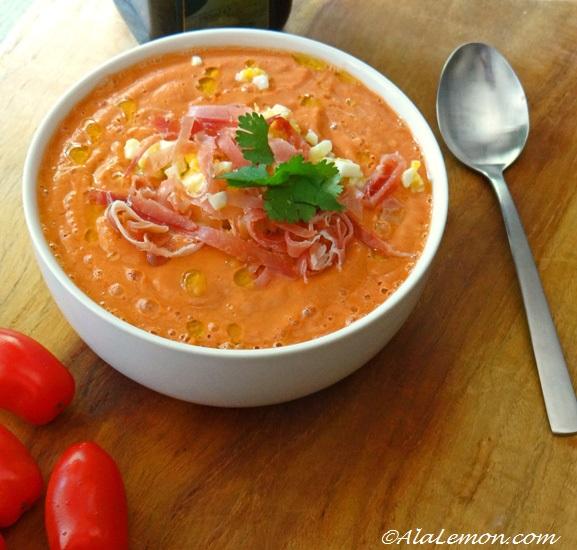 Foodista Recipes Cooking Tips And Food News Cordovan Salmorejo