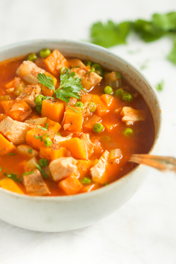 Foodista Recipes Cooking Tips And Food News Sweet Potato Chicken Soup Recipe