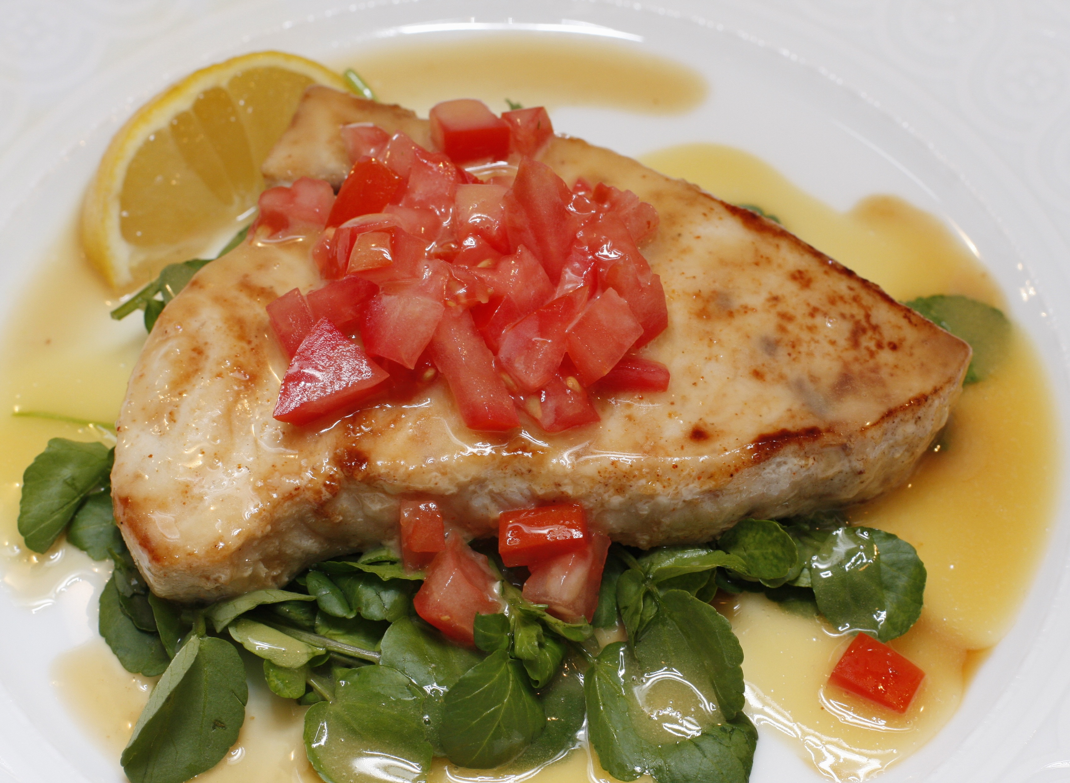 Foodista recipes cooking tips and food news pan for Sword fish recipes