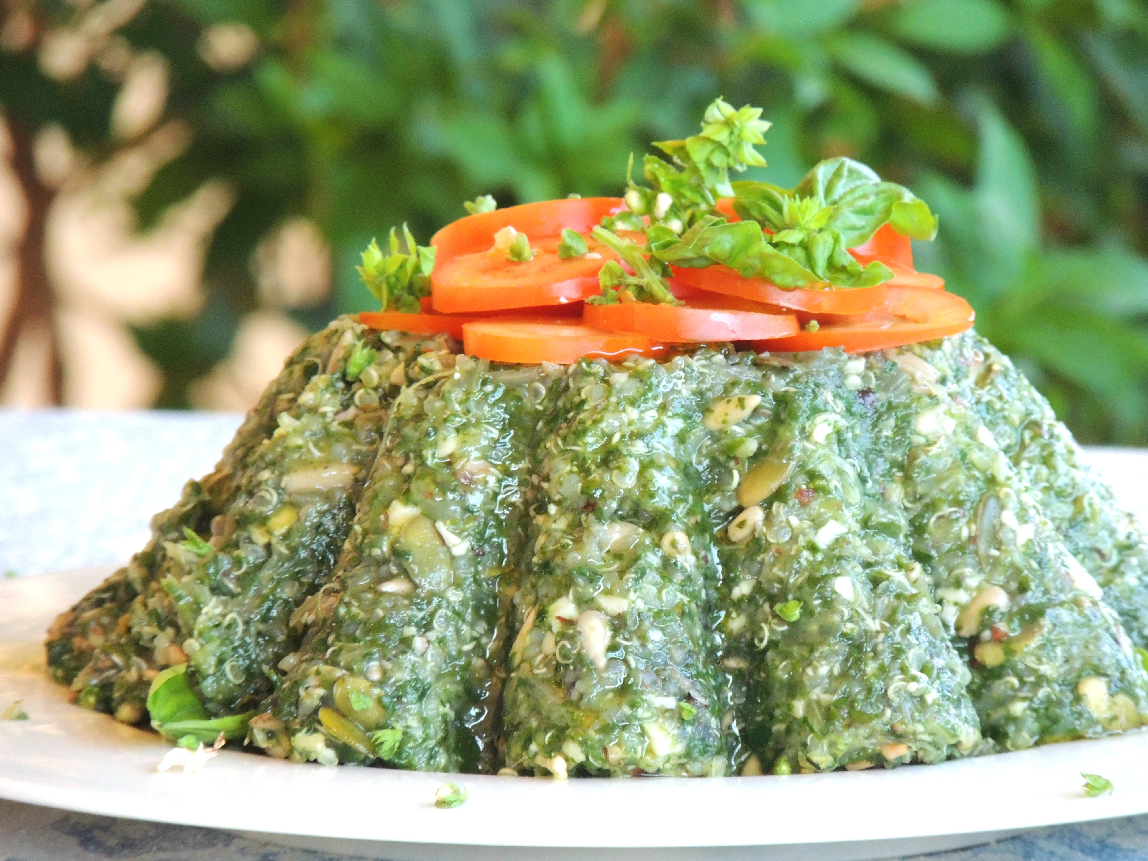 Vegan Chard, Quinoa And Hazelnuts Pie (low Carb And Gluten Free) Print  This Recipe