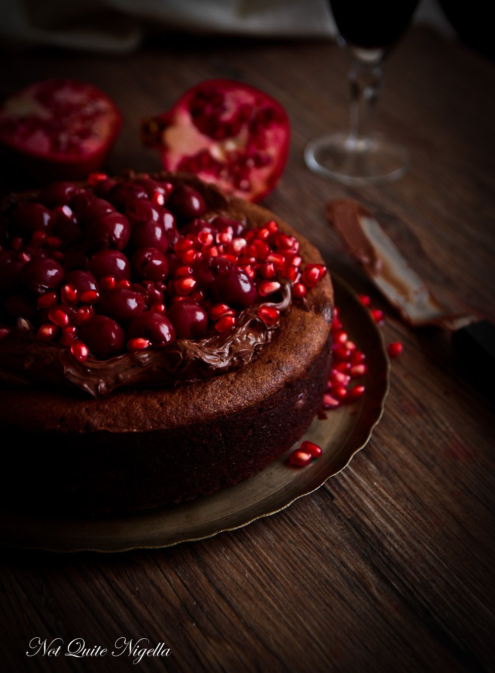 Foodista  Recipes, Cooking Tips, and Food News  Eva's Chocolate Cake with Ground Walnuts and