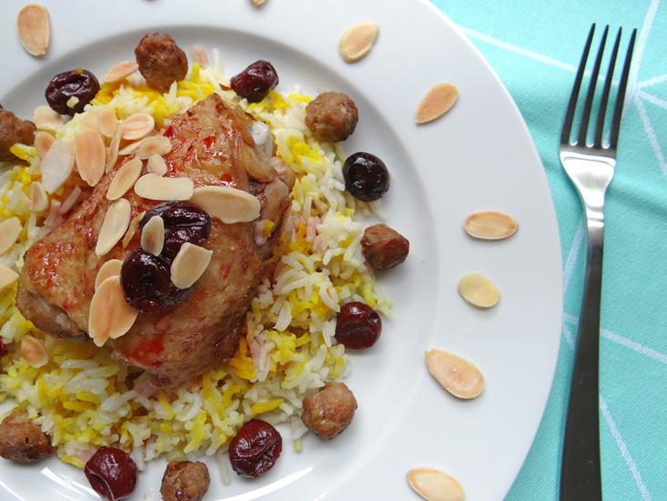 Iranian Onion Rice Cake Recipes