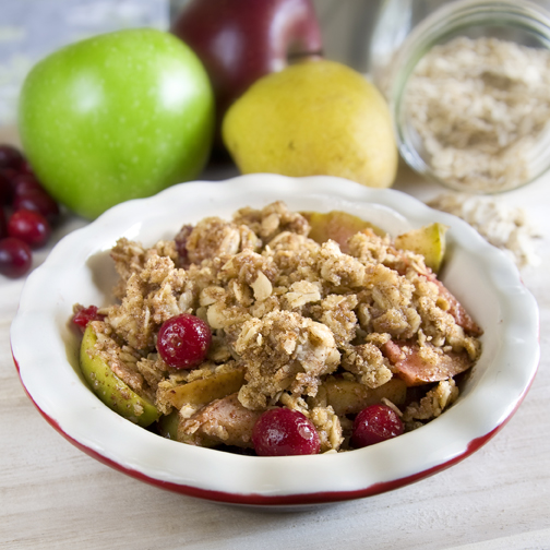 ... | Recipes, Cooking Tips, and Food News | Apple Pear Cranberry Crisp