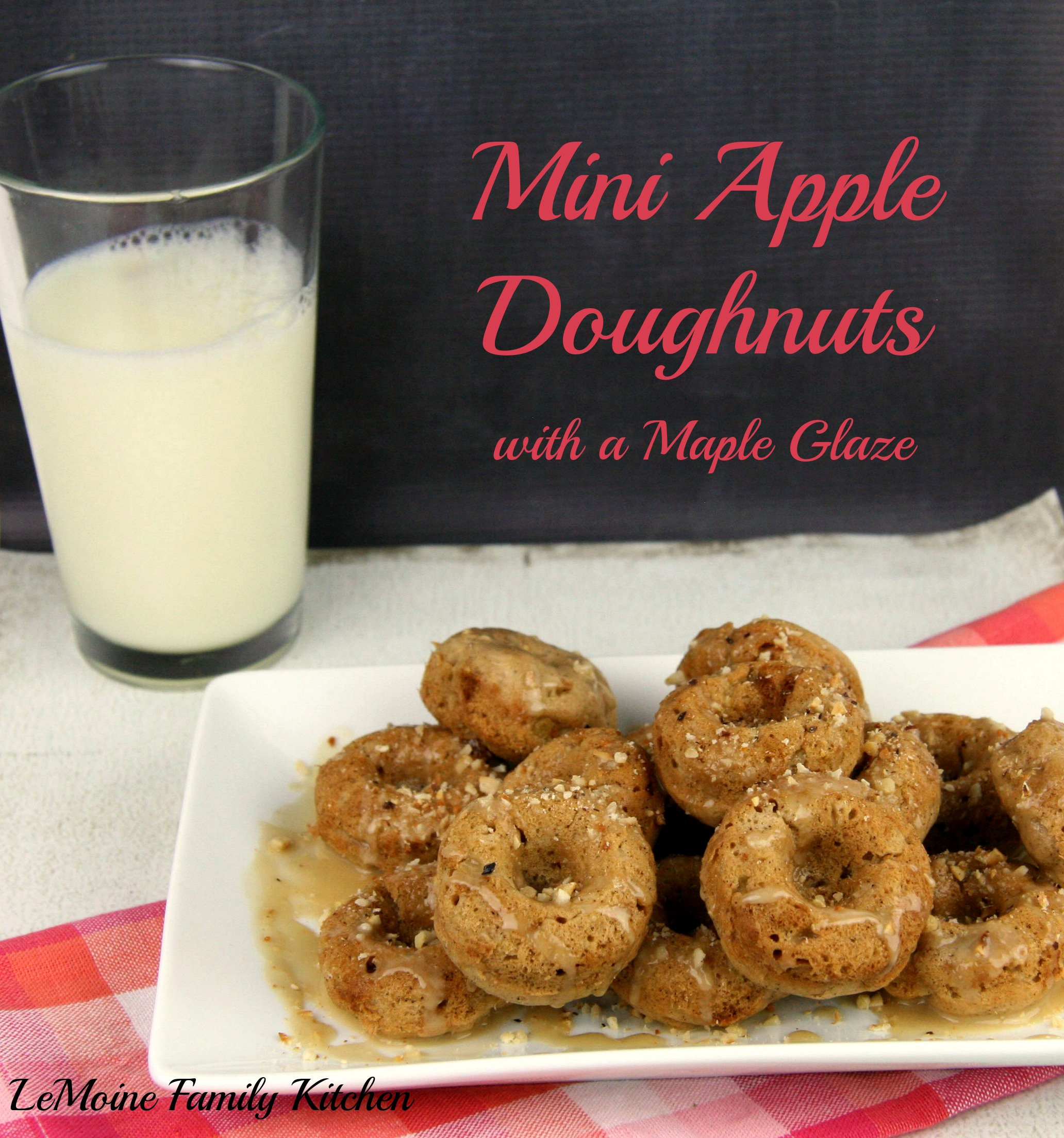 ... Cooking Tips, and Food News | Mini Apple Doughnuts with a Maple Glaze