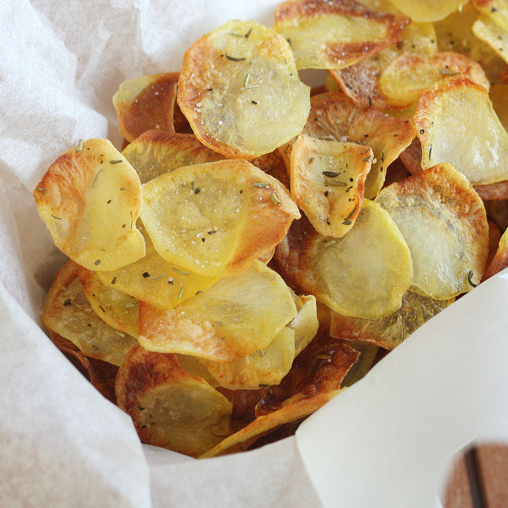 Oven-fried Potato Chips Recipes — Dishmaps