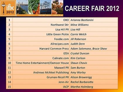 Career Fair Participants