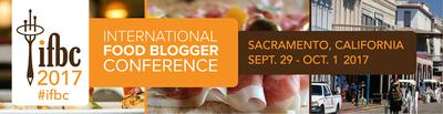 The International Food Blogger Conference 2017