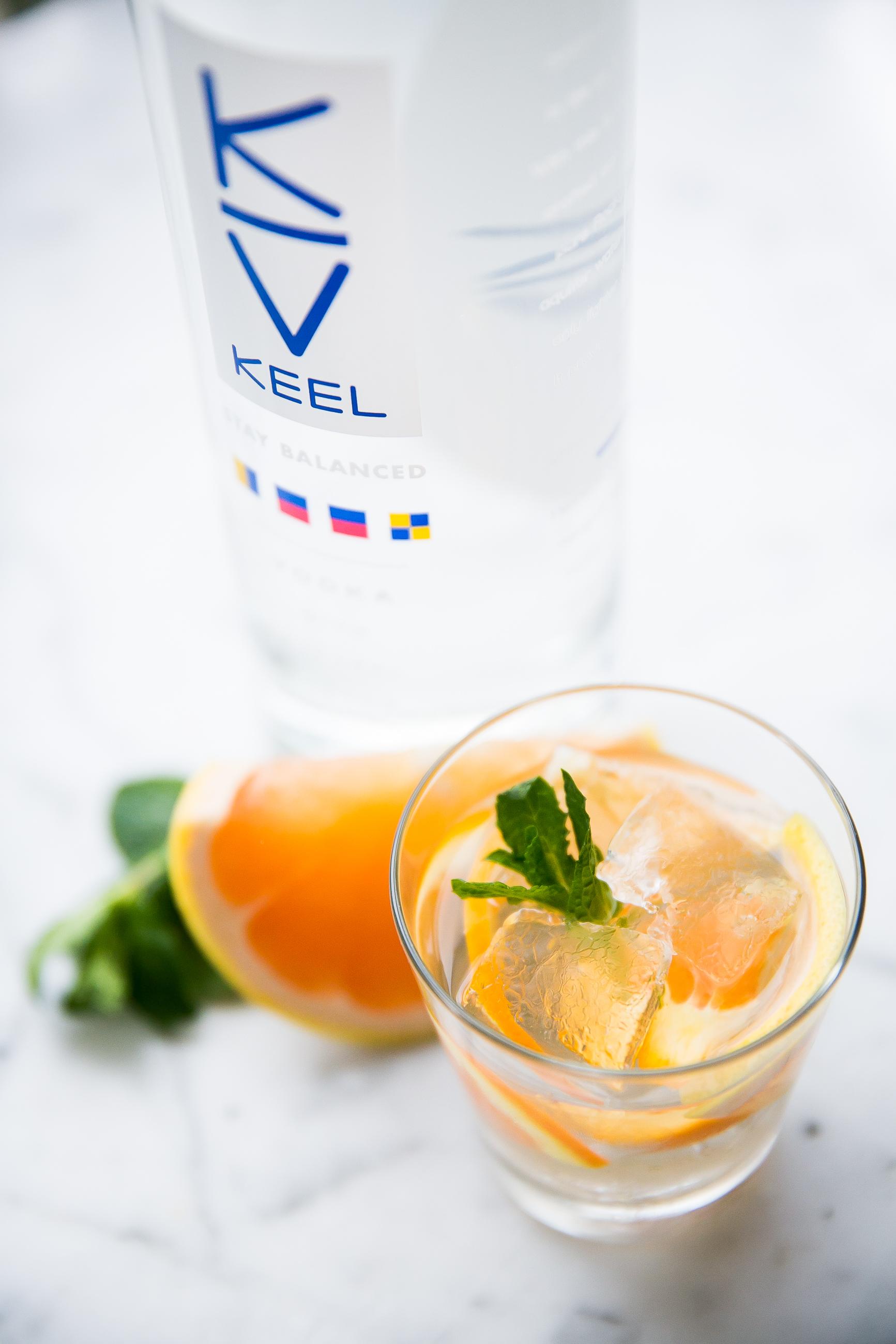 KEEL Vodka Citrus Summer