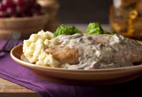 Foodista Recipes Cooking Tips And Food News Chicken With Creamy Sherry Mushroom Sauce