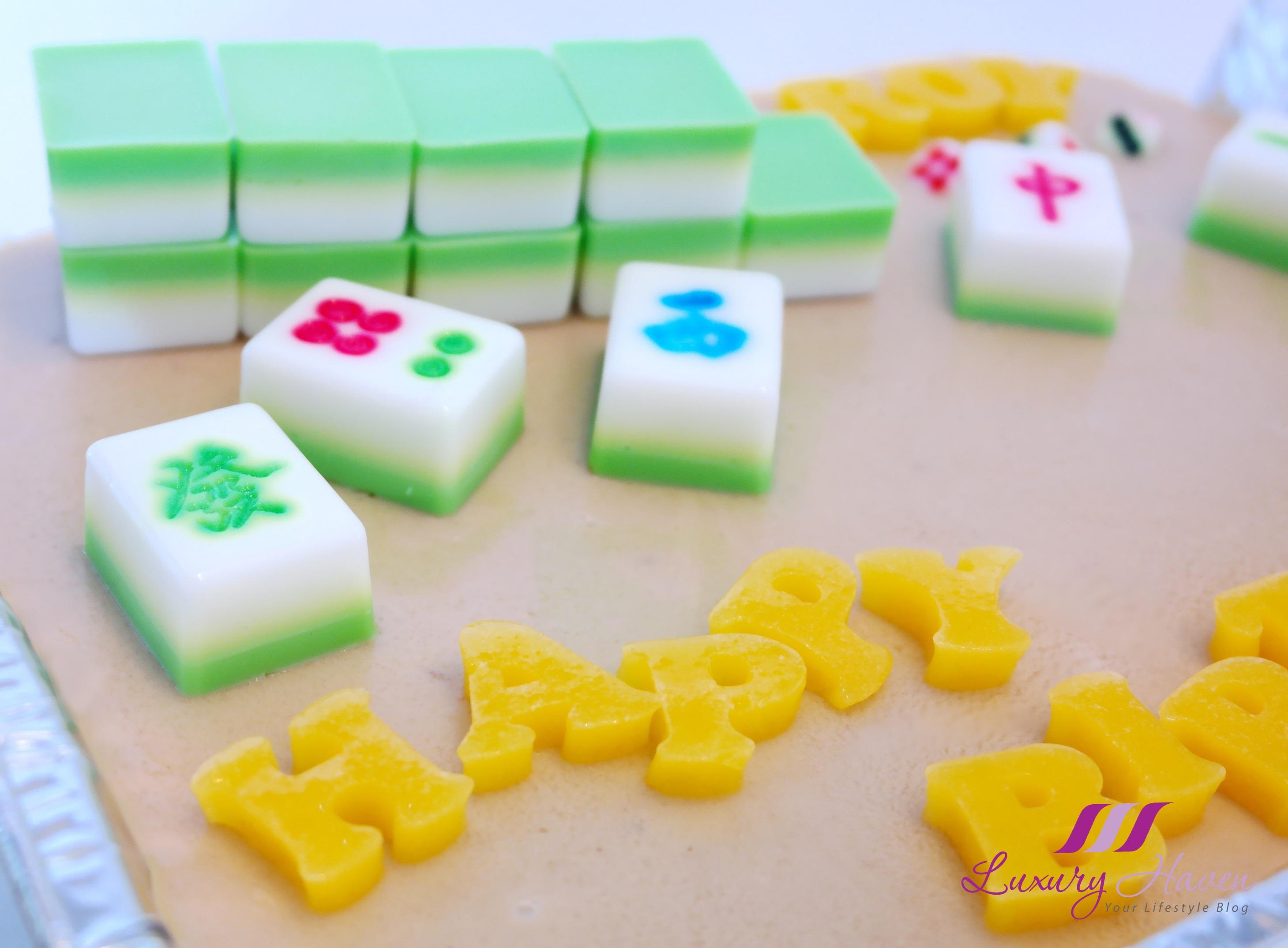 Mahjong Jelly Cake