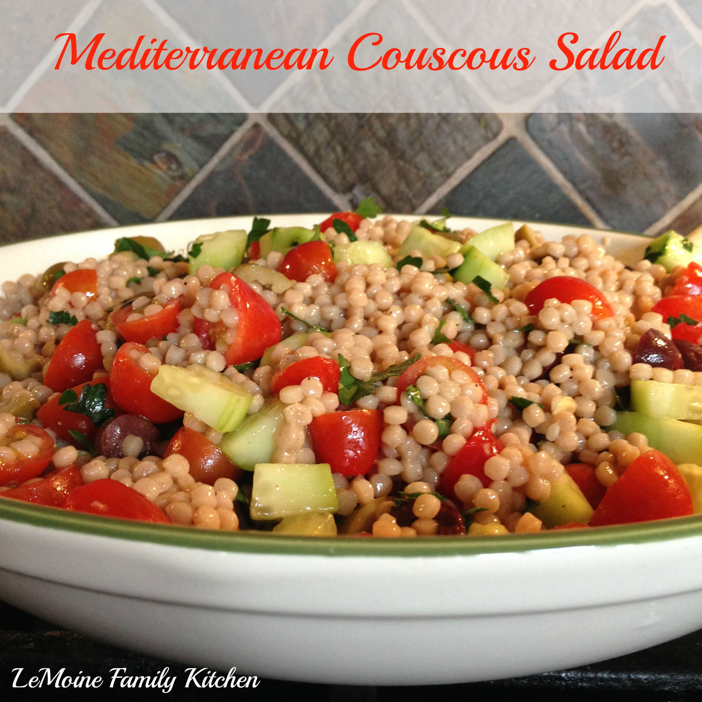 ... Recipes, Cooking Tips, and Food News | Mediterranean Couscous Salad