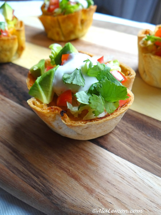 Foodista | Recipes, Cooking Tips, and Food News | Tacos in mini cups