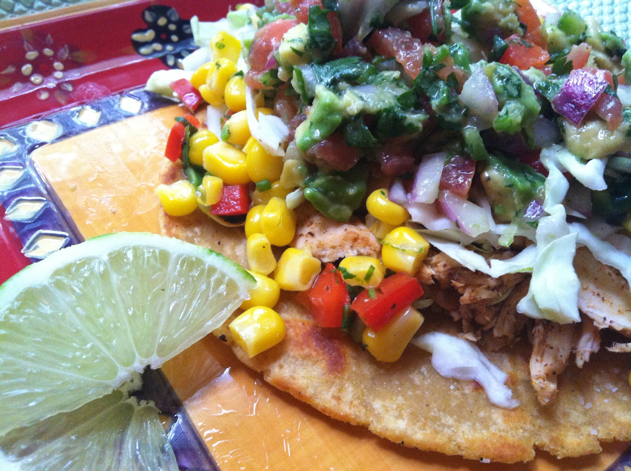 Foodista | Recipes, Cooking Tips, and Food News | Smoky Chicken Tacos