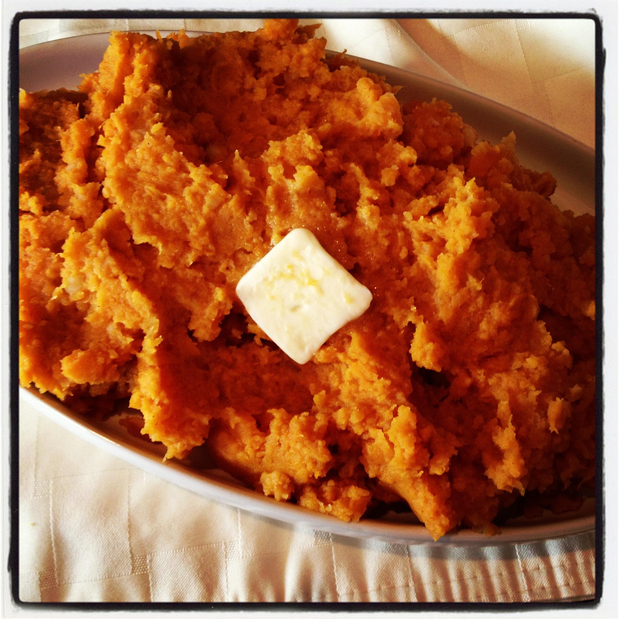 ... | Recipes, Cooking Tips, and Food News | Mashed Pumpkin & Potatoes