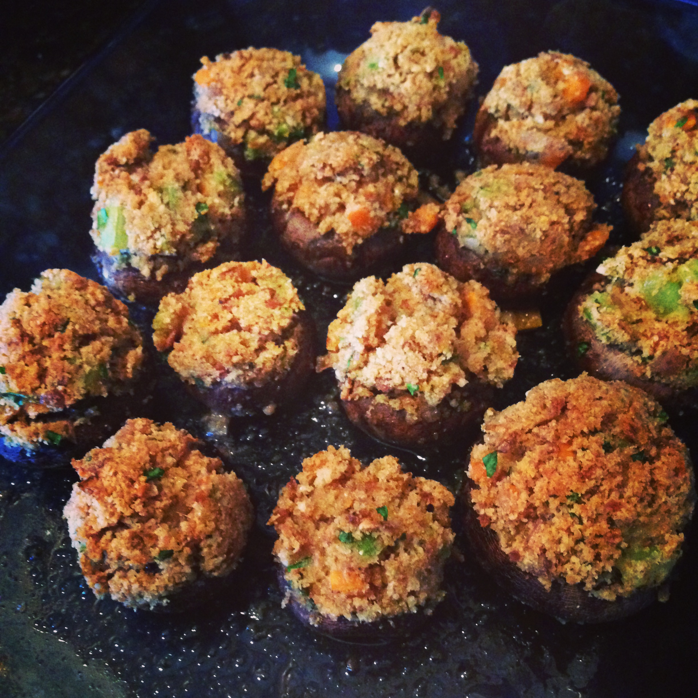 ... | Recipes, Cooking Tips, and Food News | Simple Stuffed Mushrooms