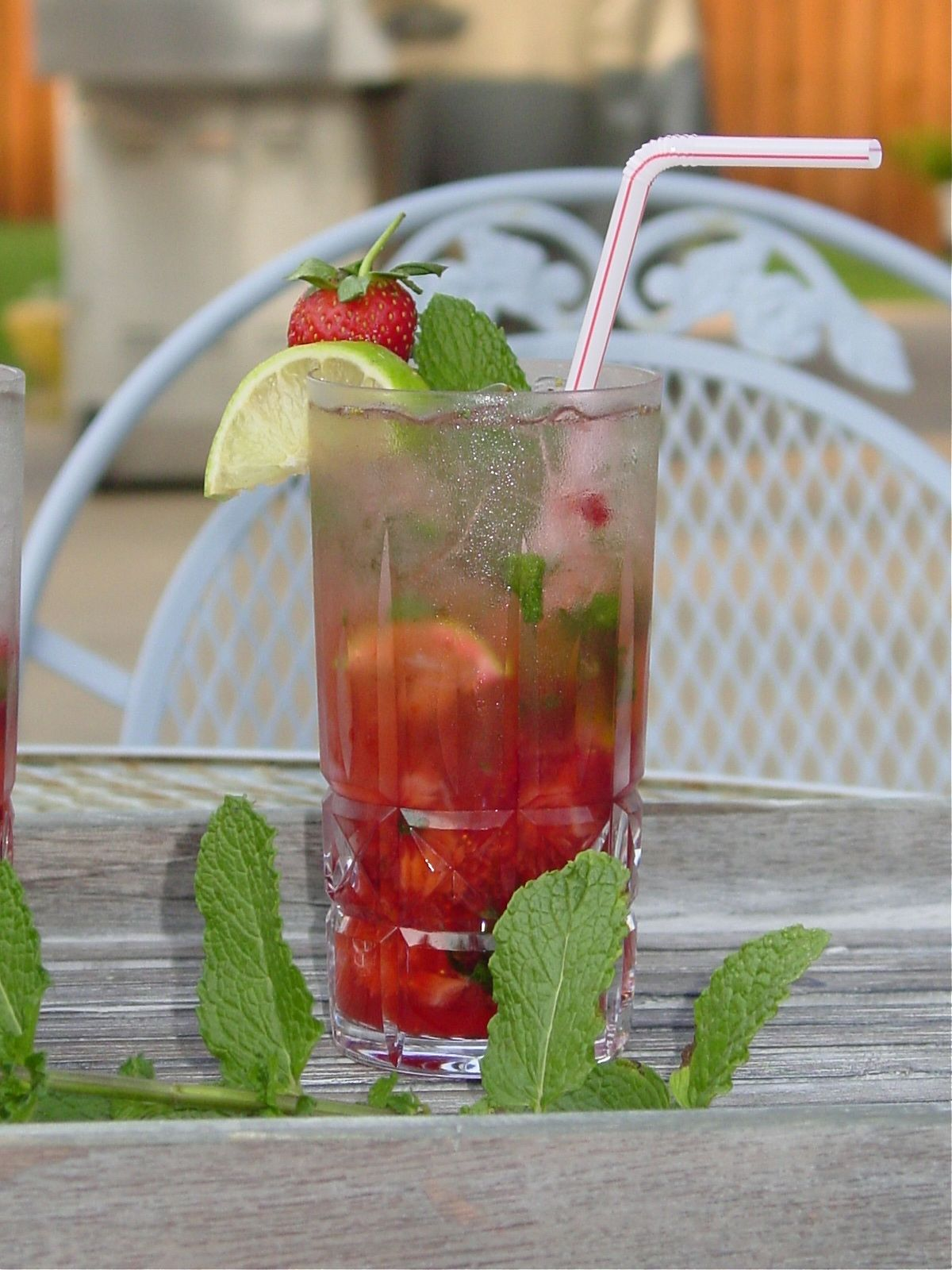Foodista  Recipes, Cooking Tips, and Food News  Strawberry Mojito