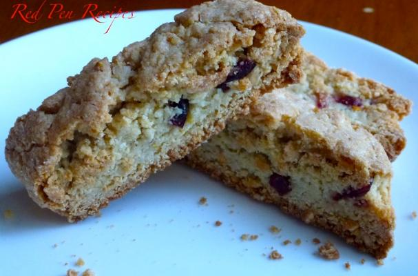 ... | Recipes, Cooking Tips, and Food News | Cranberry-almond biscotti