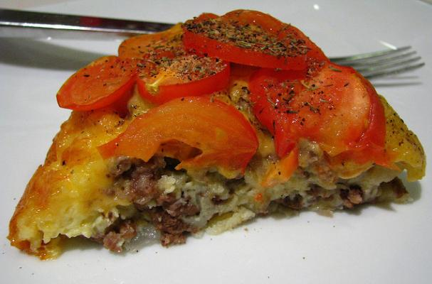 Foodista Recipes Cooking Tips And Food News Bisquick S Impossibly Easy Cheeseburger Pie