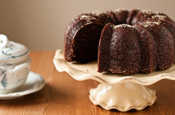 Chocolate Asparagus Bundt Cake