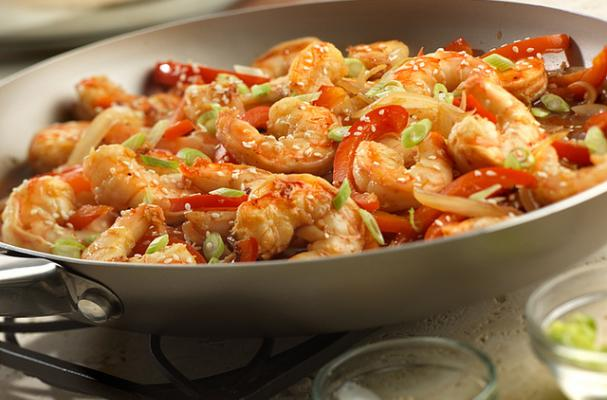 Asian Shrimp Stir-Fry