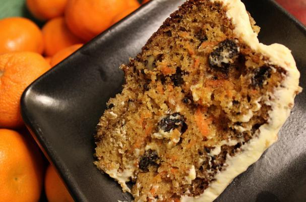 Raisin Carrot Cake Calories
