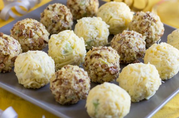 ... | Recipes, Cooking Tips, and Food News | Waldorf Cheese Ball Bites