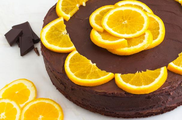 Foodista | Recipes, Cooking Tips, and Food News | Dark Chocolate Orange Cake with Chia Seeds
