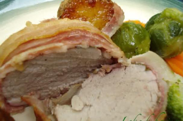 Image of An Elegant Pork Roast With Sage, Foodista