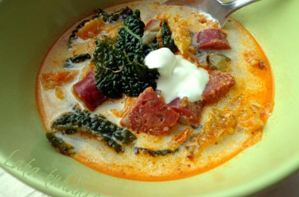 Tuscan soup - Zuppa Toscana