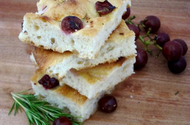 ... | Recipes, Cooking Tips, and Food News | Grape and Rosemary Focaccia