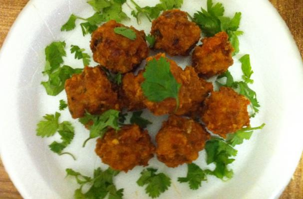 ... , Cooking Tips, and Food News   Crispy Indian Spiced Chicken Balls