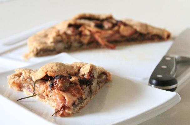 Image of Apple Sausage Galette, Foodista